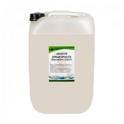 Aditivo atrapapolvo para mopa líquido-a granel.