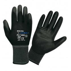 Guante nylon negro PU1400 T-