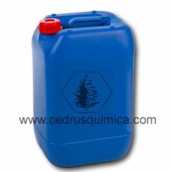Garrafa de 30 litros azul vacía con tapón