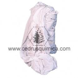 Trapo algodon punto CAMISETA blanco nuevo