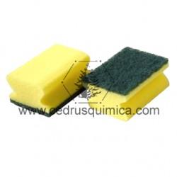 Estropajo fibra Verde B 20x15