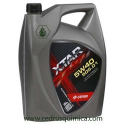 Aceite motor 5W40 Cepsa xtar 505.01 5 litros