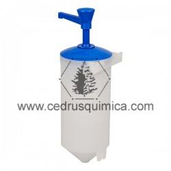 Dosificador jabón pared 2 litros IND-A + P260 Azul